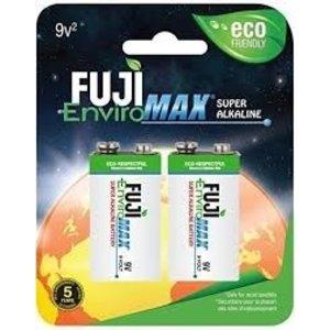 Fugi Batteries/Broadway . FUG Fuji Enviromax 9V Battery