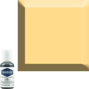AmericaColor . AME AmeriColor .75oz Soft Gel – Ivory