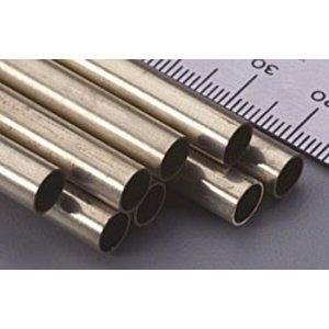 "K&S Engineering . K+S Round Brass Tube 1/4X12"""