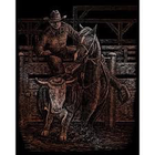 Royal (art supplies) . ROY Engraving Art Copper Rodeo Nature Animals Calgary