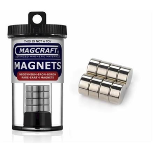 Magcraft Magnets . MFM 1/2X1/4 Rare Earth Disc Magnet