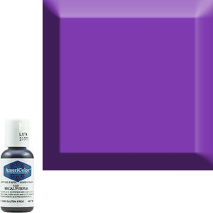 AmericaColor . AME AmeriColor .75oz Soft Gel – Regal Purple