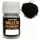 Vallejo Paints . VLJ Carbon Black Pigment 30ML