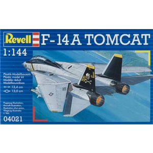Revell of Germany . RVL 1/144 F-14A TOMCAT