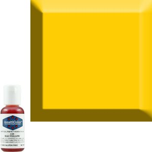AmericaColor . AME AmeriColor .75oz Soft Gel – Egg Yellow