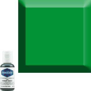 AmericaColor . AME AmeriColor .75oz Soft Gel – Forest Green