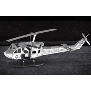 Fascinations . FTN Metal Earth - Huey UH-1