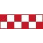 Top Flite . TOP Trim Sheet - Checker Red White