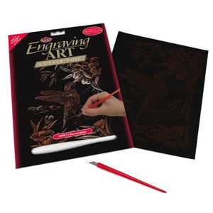 Royal (art supplies) . ROY Engraving Art Copper Hummingbird