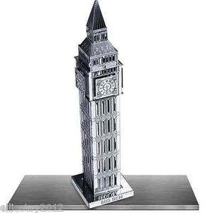 Fascinations . FTN Metal Earth - Big Ben Tower