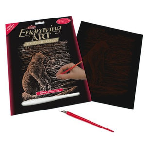 Royal (art supplies) . ROY Engraving Art Copper  Grizzly