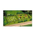 Atlas Model Railroad Co . ATL HO RUSTIC FENCE & GATE