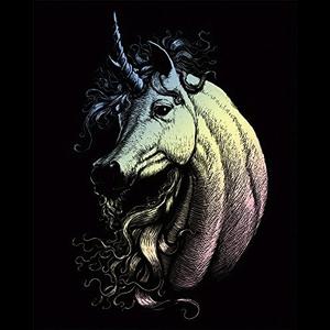 Royal (art supplies) . ROY Holographic Engrave Art Proud Unicorn