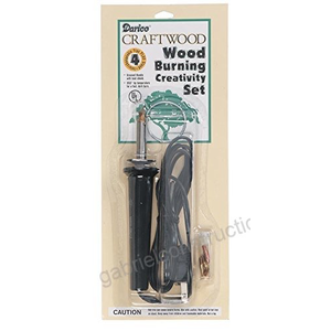 Darice . DAR Wood Burning Tool w/ 4 tips