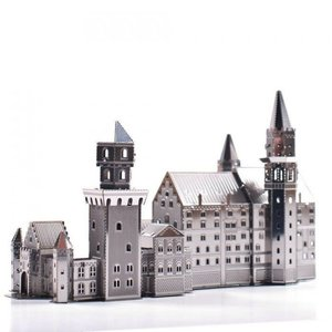 Fascinations . FTN Metal Earth - Neuschwanstein (Castle)