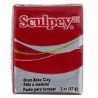 Sculpey/Polyform . SCU Deep Red - Sculpey 2 oz