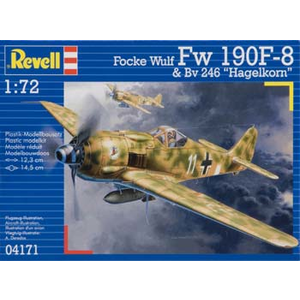 Revell of Germany . RVL 1/72 FOCKE WULF 190 F-8