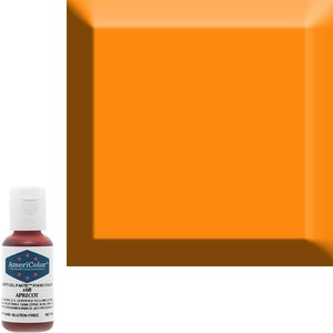 AmericaColor . AME AmeriColor .75oz Soft Gel - Apricot