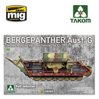 TAKOM . TAO 1/35 Bergepanther Ausf.G German Armored Recovery Vehicle Sd.Kfz.179 w/ full interior