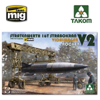 TAKOM . TAO 1/35 Stratenwerth 16t Strabokran 1944/45 Production / V-2 Rocket/ Vidalwagen