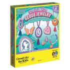 Creativity for kids . CFK Shrink Fun Geode Jewelry Kids Crafts Calgary