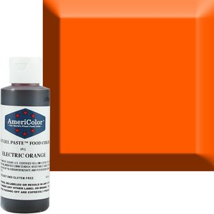 AmericaColor . AME AmeriColor 4.5oz Soft Gel – Electric Orange