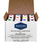 AmericaColor . AME AmeriColor .75oz Soft Gel Student Kit 1