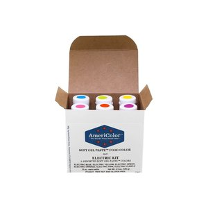AmericaColor . AME AmeriColor .75oz Soft Gel – Electric Kit