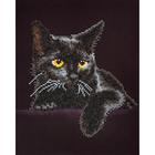 "Diamond Dot . DDT Cat Diamond Embroidery Facet Art Kit 13.75""X17"""