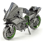 Fascinations . FTN Metal Earth - H2R Kawasaki Ninja Motorcycle