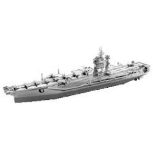 Fascinations . FTN Metal Earth - Iconx - USS Theodore Roosevelt CVN-71