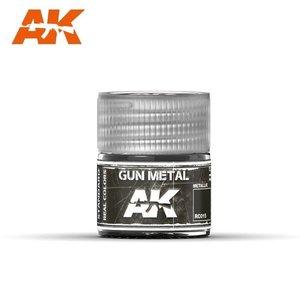 A K Interactive . AKI Gun Metal Metallic 10ml