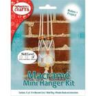 Pepperell . PEP Modern Macrame Hanging Jar Kit