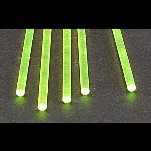Plastruct . PLS FLOURESCENT GREEN ROD 5/32