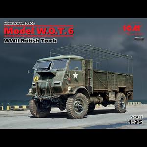 Icm . ICM 1/35 W.O.T. 6 WWII British Truck