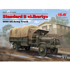 Icm . ICM 1/35 WWI Us Standard B Liberty Army Truck