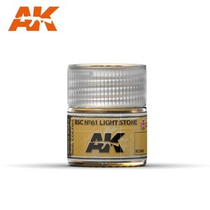 A K Interactive . AKI BSC Nº61 Light Stone 10ml