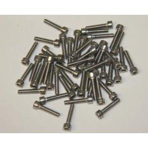 APS Racing . APS Stainless Steel Socket Hex Screws 3X6Mm
