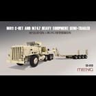 Meng . MEG 1/35 US M911 C-HET and Trailer