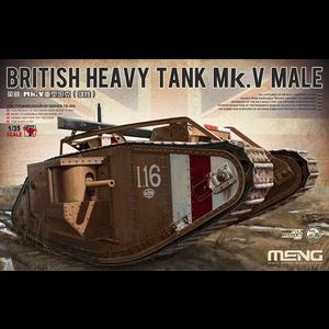 Meng . MEG Brit Hvy Tank Mk.V Male