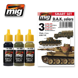 Ammo of MIG . MGA AFRIKA KORPS PAINT SET