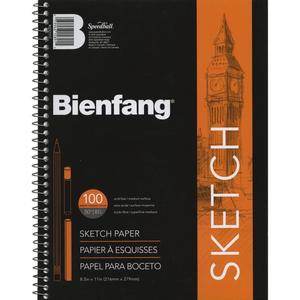 """Speedball . SPD Bienfang Spiral Sketch Book 8.5"""" X 11"""""""