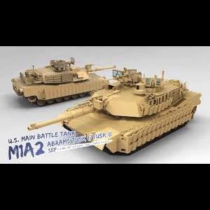 Meng . MEG 1/35 US Main Battle Tank M1A2 Sep