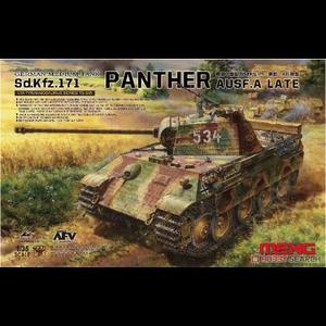 Meng . MEG 1/35 German Medium Tank Sd.Kfz.171 Panther,Ausf.A Late