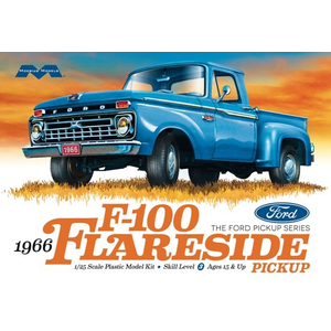 Moebius Models . MOE 1/25 1966 Ford F-100 Flareside Pickup