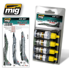 Ammo of MIG . MGA MIG & SU COLORS ACRYLIC PAINT SET
