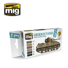 Ammo of MIG . MGA Sherman Tanks Vol. 3 (WWII US Marine Corps) Set