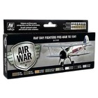 Vallejo Paints . VLJ RAF & FAA DAY FIGHTERS PAINT SET