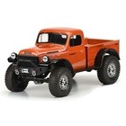 "Pro Line Racing . PRO 1946 Dodge Power Wagon Clear Body, for 12.3"" (313mm) Wheelbase Scale Crawlers"