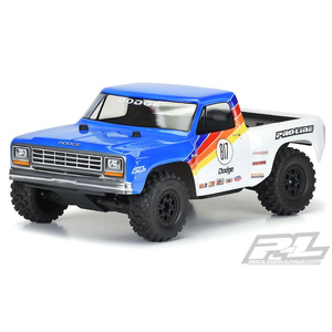 Pro Line Racing . PRO 1984 Dodge Ram 1500 Race Truck Clear Body for Slash 2wd, Slash 4x4